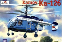 Kamov Ka-126 Soviet light helicopter