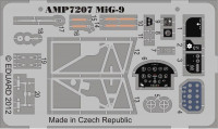 Photo-etched set for ART Model MiG-9