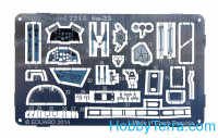Photo-etched set for ART Model Su-25