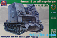 sIG 33 (Sf) German 150mm self-propelled gun