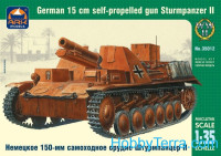 Sturmpanzer II German 150mm SPG