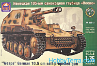 SdKfz.124 WESPE German self-propelled gun
