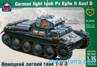 Pz.Kpfw II Ausf.D German light tank