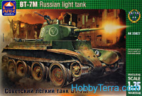 BT-7M WWII Russian light tank