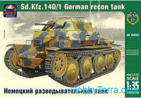 German Sd.Kfz 140/1 Aufklarungspanzer light tank