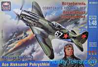 MiG-3 Russian fighter, ace A. Pokryshkin