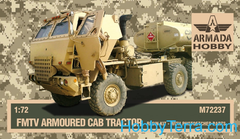 M1078 FMTV armored cab tractor (resin kit & PE set)