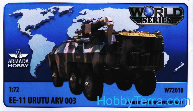 Brazilian EE-11 URUTU Armored recovery vehicle (resin + PE set)