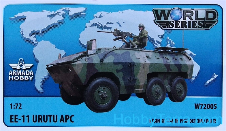 Brazilian 6x6 APC EE-11 URUTU (resin kit & PE set)