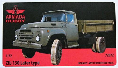 ZiL-130 truck, late cab (resin kit & PE set)
