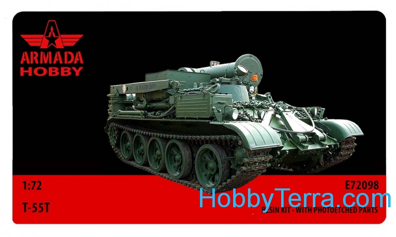 T-55T Soviet armored recovery vehicle (resin kit & PE set)