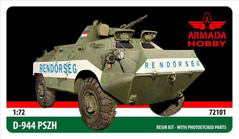 D-944 PSZH Hungarian armored personnel carrier (resin kit)