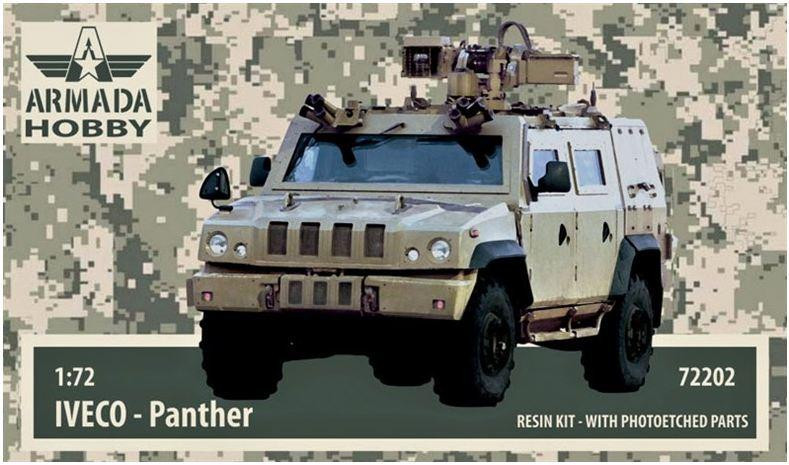 IVECO PANTHER British MRAP (resin kit & PE set)