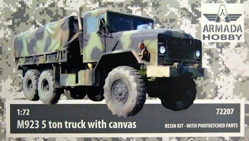 "M923 ""Big Foot"" U.S. 5ton truck w/canvas (resin kit & PE set)"