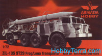 ZiL-135 9T29 Frog/Luna transporter (resin kit + pe)