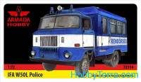 IFA W50 Hungarian Police van (resin kit & PE set)