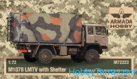 M1078 2,5ton LMTV US 4x4 truck w/shelter (resin kit & PE set)