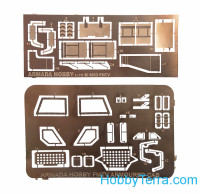 M1078 LMTV armored cab w/canvas (resin kit & PE set)