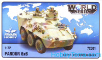 Austrian 6x6 APC Pandur (resin kit & PE set)