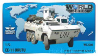 Brazilian EE-11 URUTU armored cab & turret (Haiti) (resin + PE set)