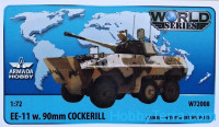 Brazilian 6x6 APC EE-11 URUTU w. 90mm Cockerill turret (resin kit & PE set)