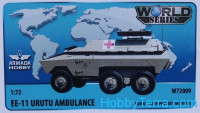 Brazilian 6x6 APC EE-11 URUTU Ambulance (resin kit & PE set)