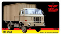 IFA W50 DDR/NVA truck (resin kit & PE set)