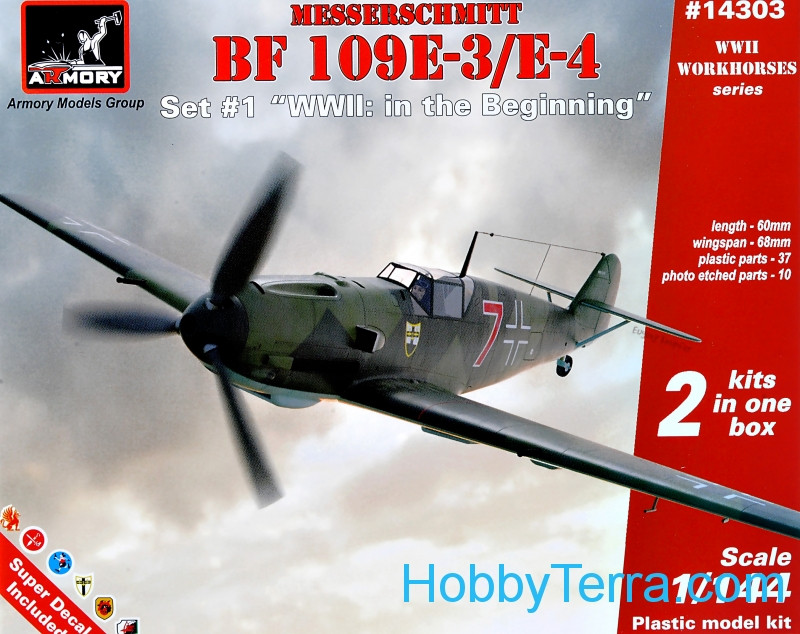 "Armory  14303 Messerschmitt Bf 109E-3/E-4 ""WWII: in the Beginning"""