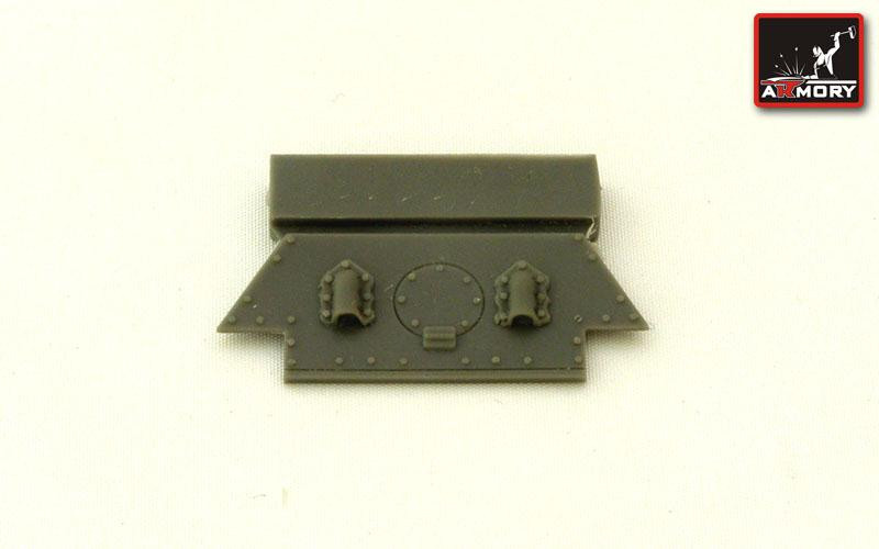 T-34 rear hull plate mod.1942 (plant No183)