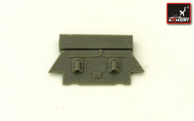 T-34 rear hull plate mod.1944 (plant No112)