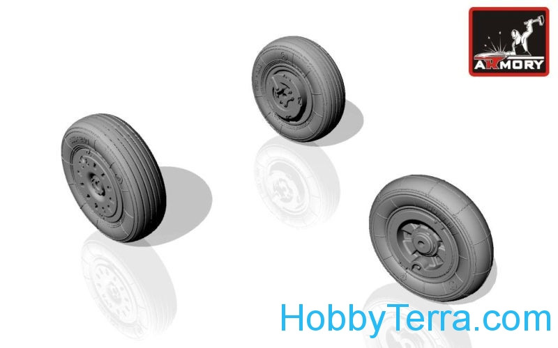 Yak-38 Forger wheels
