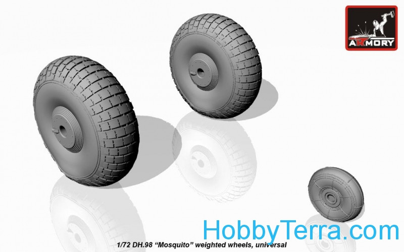"Armory  AW72406 deHavilland DH.98 ""Mosquito"" wheels"