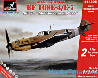 "Messerschmitt Bf 109E ""Mediterranean TO Aces"" (two kits in the box)"