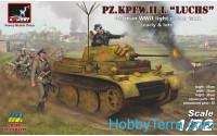 Pz.Kpfw.II Ausf.L Luchs German WWII light recon tank, early&late