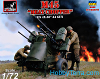 "M45 ""Meat Chopper"" US 4x.50 AA Gun"