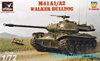 M41A1/A2 Walker Bulldog US post-war Light tank