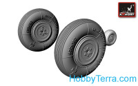 Yak-3 wheels set