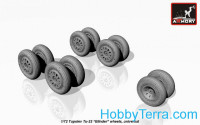 Wheels set 1/72 for Tu-22 'Blinder'