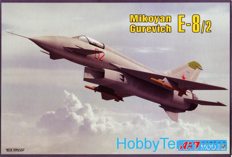 Mikoyan Ye-8 experimental fighter