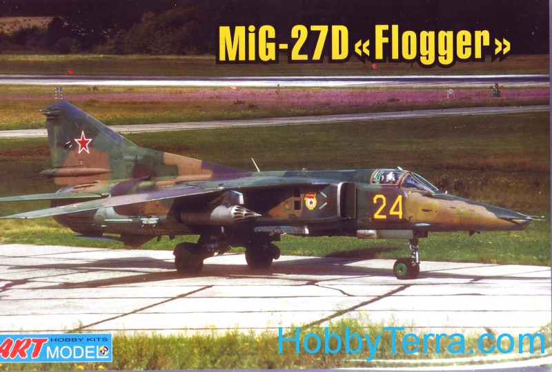 Mikoyan MiG-27M/D Flogger-J ground attack aircraft