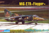 MiG-27M/D Flogger-J ground attack aircraft