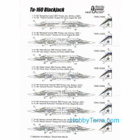 Decal 1/144 for Tu-160 BlackJack