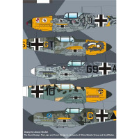 WWII Luftwaffe Bf.109E, Luftwaffe Experts