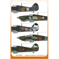 Decal 1/72 for Hawker Hurricane IIb In the Russian Sky