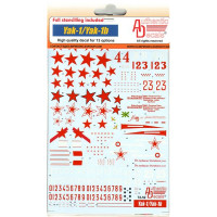 Decal 1/72 for Yak-1/Yak-1b