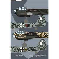 Decal 1/72 for Junkers Ju-88A's anti-ship units