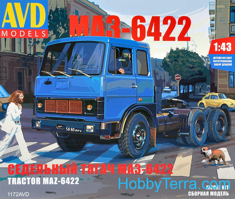AVD Models  1172 Tractor MAZ-6422, early