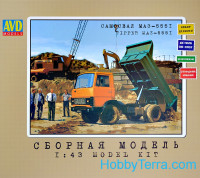 Tipper MAZ-5551, early