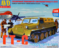 Crawler transporter-terrain vehicle GT-S (47), 1954