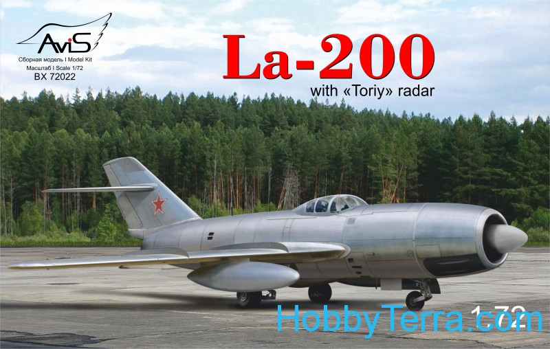"La-200 with ""Toriy"" radar"